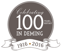 100 years in deming